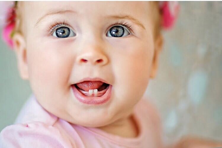 Прорізування зубів у дітей