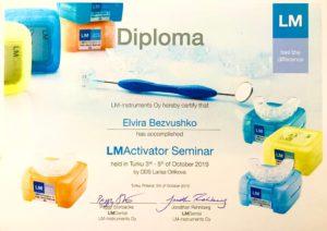 Практичний курс та майстер-клас по лікуванню прикусуLM-активаторами